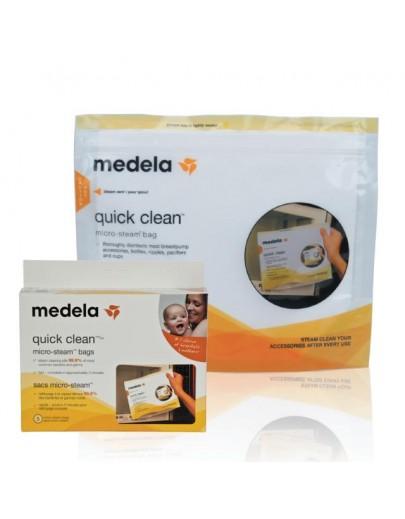 Quick Clean Micro-Steam Bags