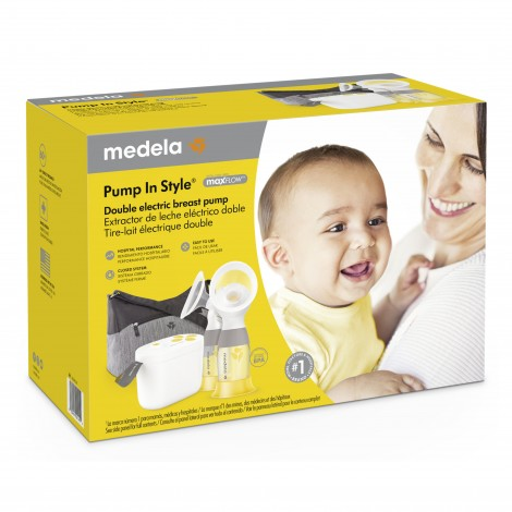 Medela Pump In Style Maxflow Technology Closed System Quiet
