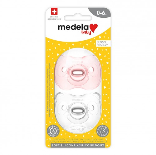 Medela Baby new SOFT SILICONE Pacifier