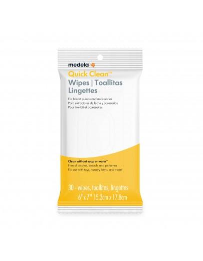 Lingettes Quick Clean™ Emballage de 30